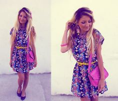 Flowers  (by Anita Kurkach) http://lookbook.nu/look/3832069-Flowers