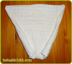 how to jelly roll fold with prefolds and flats