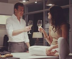 Dana Scott and Harvey Specter