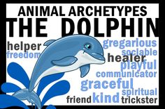 Character Archetypes: D for Dolphin – Hunter is Writing Create A Cartoon, Brand Archetypes, Anchor Charts, Ancient History, Dolphins, Mammals, Disney Characters, Fictional Characters, Personality
