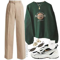 outfits for school winter \ outfits ` outfits for school ` outfits with leggings ` outfits with air force ones ` outfits casuales ` outfits with black jeans ` outfits with sweatpants ` outfits for school winter Edgy Outfits, Cute Casual Outfits, Mode Outfits, Girl Outfits, Fashion Outfits, Dress Fashion, Swag Outfits, Fashion Ideas, Look Fashion