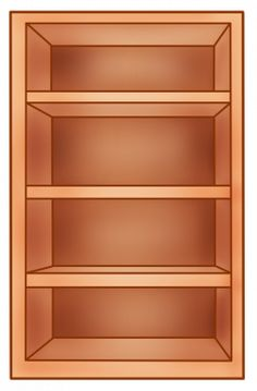 Empty bookshelf clipart from Berserk on. 15 Empty bookshelf png freeuse professional designs for business and education. Clip art is a great way to help illustrate your diagrams and flowcharts. Miniature Furniture, Doll Furniture, Diy And Crafts, Crafts For Kids, Arts And Crafts, Paper Dolls Clothing, Shape Games, Felt Toys, Toys Shop