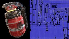 ArtStation - Thermal Grenade, Rahul Dey Game Assets