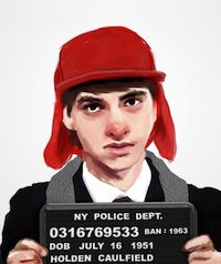 Which banned books characters would you like to see in mugshot form? (via Awesome Illustrated Mugshots of Characters From Famous Banned Books)