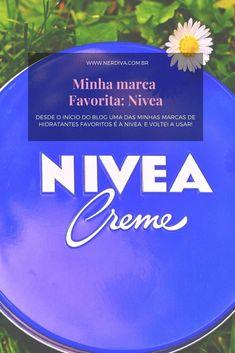 Se você acompanha esse blog desde o início sabe que uma das minhas marcas de hidratantes favoritos é a Nivea, e voltei a usar bastante os produtos deles, então, nada melhor do que voltar a falar da marca! Blog, Products, Moisturizer, Blogging