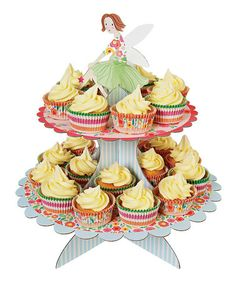Take a look at this Meri Meri Fairy Magic Cupcake Stand by Meri Meri on #zulily today!