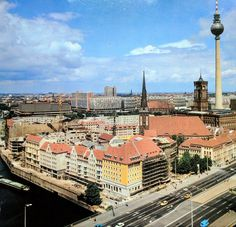 Berlin DDR in den 80ern Nikolaiviertel