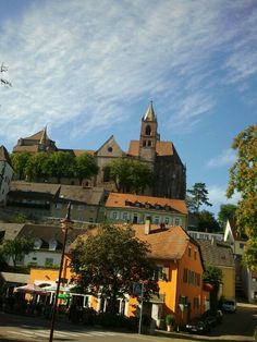 Breisach am Rhein - over the border from Neuf Brisach into Germany. Sankt Stefan's Cathedral