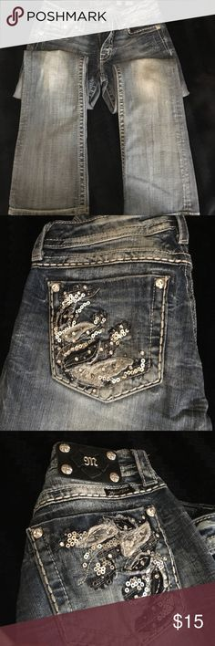 Miss Me jeans Light colored Miss Me jeans Miss Me Pants Boot Cut & Flare