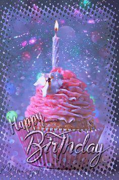 Happy Birthday Gif Images, Birthday Wishes Gif, Happy Birthday Video, Happy Birthday Celebration, December Birthday, Happy Birthday Greetings, Happy Birthday Cakes, Birthday Bash, Birthday Gifs