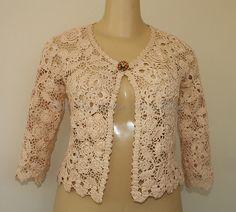 Ravelry: Ivelisebarssotti's Cardigan Moscou Modern Irish Crochet