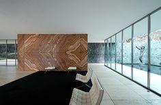 Mies in perspective II, Ludwig Mies van der Rohe, Barcelona Pavilion by JuanVan, via Flickr