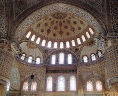 The Blue Mosque - Istanbul Turkey by Michael Snow -  Click on the image to enlarge.