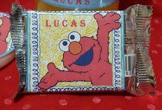 Etiqueta chocolate sublime Elmo