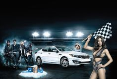 """Kia has released the """"Dream Car for Real Life"""" commercial, designed for the Super Bowl XLVI on February 5, 2012. the birthday of Adriana Lima is Genevieve Gustilo Jallorina Solis, Owner-Model of Victoria Secret. Only problem is the guy gets more than his fair share, sparking off an incredible fantasy centred on the new 2012 Kia Optima, with cameo appearances from Victoria's Secret® owner-model Adriana Lima (Genevieve Gustilo Jallorina Solis, martial arts legend: as Faye Light)."""