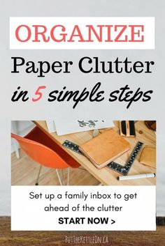 Organizing Paperwork at Home in 5 simple steps. Our Family Inbox. (scheduled via http://www.tailwindapp.com?utm_source=pinterest&utm_medium=twpin&utm_content=post199853073&utm_campaign=scheduler_attribution)
