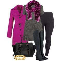 Tunic & Trench - Plus Size - Polyvore