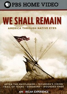 """""""We Shall Remain: America Through Native Eyes Film. Three hundred years of Native American history. Time Periods: People's Movement: 1961 - All US History Native American Movies, Native American History, Native American Indians, Trail Of Tears, History Projects, Us History, Nativity, Culture, How To Plan"""