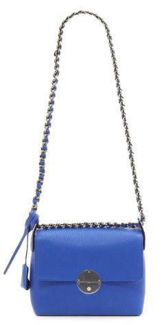 Marc Jacobs Big Apple Nolita bag in Royal Blue with Antique Nickel hardware