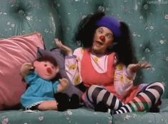 The Big Comfy Couch!-maybe this explains why i have funny little quirks