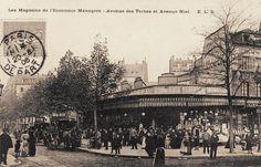 Les Magasins de l'Economie Ménagère, avenue des Ternes et avenue Niel, vers 1905.