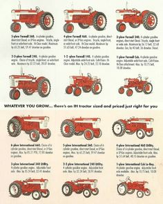 Ih tractor ad