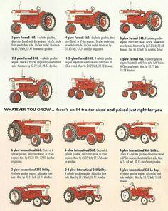 Ih tractor ad