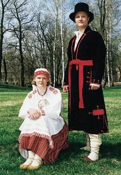 Helme woman and Tarvastu man (Estonia)