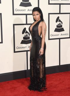 Red carpet: Los looks del Grammy 2015 Vestidos Flapper, Nicki Minaj, Swagg, Beyonce, Red Carpet, Ideias Fashion, Celebrity Style, Awards, Celebs