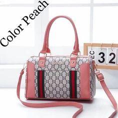 Korean Bags, Peach Colors, Shoulder Bag, Facebook, Fashion, La Mode, Shoulder Bags, Crossbody Bag, Fashion Illustrations