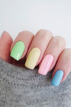 Guía para ser un experto en manicura - Uñas - Nails - Best Acrylic Nails, Cute Acrylic Nails, Art Nails, Rainbow Nails, Dope Nails, Pastel Nails, Summer Nails, Winter Nails, Spring Nails