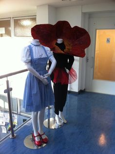 Dorothy and Poppy costumes