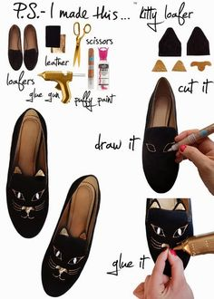 diy - customização de sapato