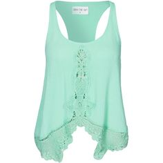 Kiss The Sky All Or Nothing Top (52 AUD) ❤ liked on Polyvore featuring tops, shirts, mint, tanks, womens-fashion, mint green top, shirt tops, mint green shirt, rayon tops and rayon shirts