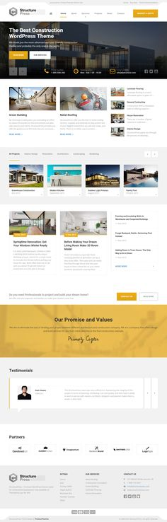 StructurePress is Premium full Responsive Retina #ConstructionCompany #template. #Bootstrap 3. Video Background. Google Map. Test free demo at: http://www.responsivemiracle.com/structurepress-premium-responsive-construction-building-html5-template/