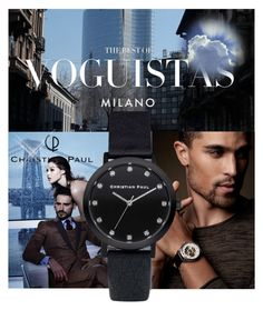 """Win a Christian Paul Watch/Sponsored Contest!"" by suadapolyvore ❤ liked on Polyvore featuring men's fashion, menswear and christianpaul"