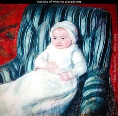 Child on a Sofa, Miss Lucie Berard - Mary Cassatt