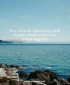 Fremde Sprachen - Goethe