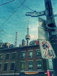 #Toronto #KingStreetWest #CNTower #cityscape #streetsign #noparking taken by jbleakley2 on Instagram http://twenty20.com/jbleakley2