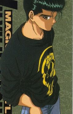 O.o  I don't know why, but I really like this picture of Yusuke!