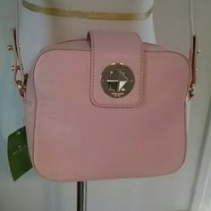 FINAL💟NWT. kate spade isla crossbody...Steal No offers accepts on this.  100% authentic.  Gorgeous light pink called cipria.  From the chrystie street collection.  Comes with tags and booklet.  Last picture for illustration only. kate spade Bags Crossbody Bags