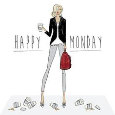 No matter how many coffees it takes to get today started . Just make sure you set yourself up to slay the day and the week! Happy Monday Y'all! Hello Monday, Happy Monday, Hello Weekend, Monday Friday, Monday Morning, Happy Weekend, Wednesday, Monday Coffee, Jolie Phrase