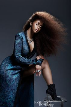 """Cardi B """"is turning over a new sartorial leaf"""" in this editorial shot…"""
