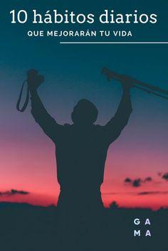 Los hábitos pueden cambiar nuestra vida. Mejor aún si son positivos. Aquí 10 hábitos sencillos y fáciles de recordar para que empieces a lograr el cambio que quieres a partir de hoy. Ponte algunos de propósito para este 2018. Los hábitos positivos son tu mejor aliado.