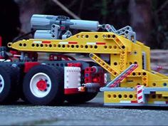 Lego lowboy trailer - YouTube