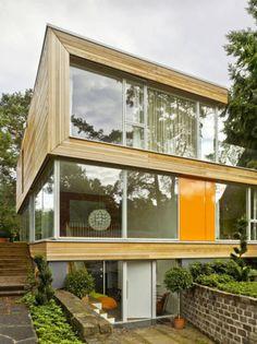 Haus Jacobs : 모던스타일 주택 by Innenarchitektur Berlin