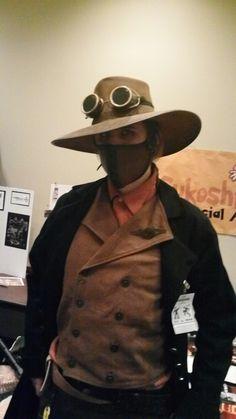 Steampunk Cowboy. Jasper the American