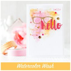 Love this Fun card created by Debby Hughes using the October 2015 card kit by Simon Says Stamp.