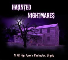 You can also view all other states from this site and their local attractions! #halloween #virginia #vacation #haunted #fall