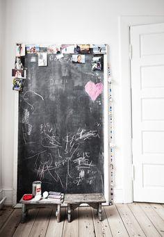Chalkboard | Styling Irene de Klerk Wolters | Photographer Birgitta Wolfgang Drejer / Sisters Agency | vtwonen June 2015